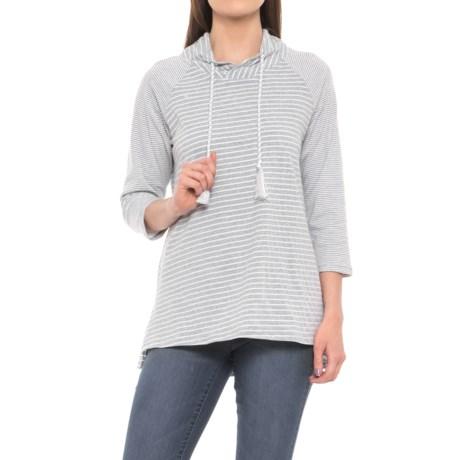 Neon Buddha Daytona Mock Collar Shirt - 3/4 Sleeve (For Women)