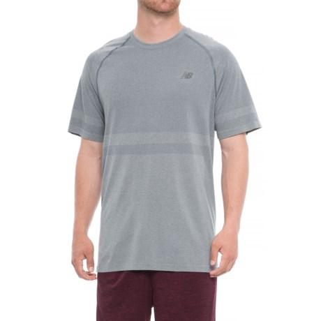 New Balance Seamless T-Shirt - Short Sleeve (For Men)