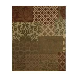 "Kaleen Samode Hand-Tufted Wool Multi Rug - 7'6""x9'"
