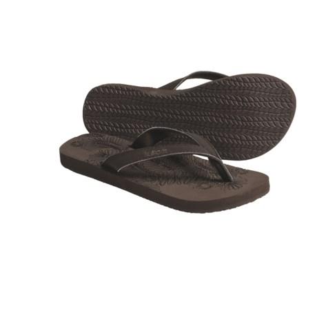 Kustom Ace Flat Sandals - Flip-Flops, Recycled Materials (For Women)
