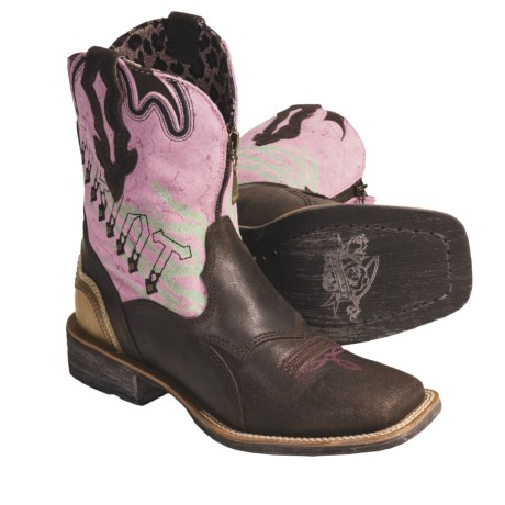 great boots! Love Ariats! - Review of Ariat Zipitbaby Cowboy Boots ...