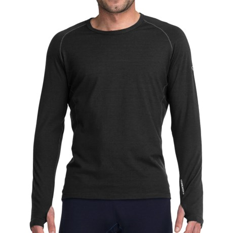 Icebreaker GT200 Sprint Base Layer Top - Merino Wool, Lightweight, Long Sleeve (For Men)