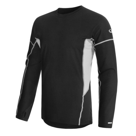 Icebreaker GT200 Chase Base Layer Top - Merino Wool, Long Sleeve (For Men)