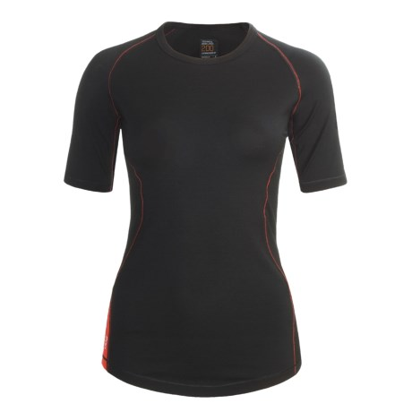 Icebreaker GT200 Pace Base Layer Top - Merino Wool, Crew Neck, Short Sleeve (For Women)
