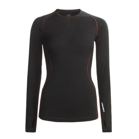 Icebreaker GT200 Pace Base Layer Top - Merino Wool, Crew Neck, Long Sleeve (For Women)