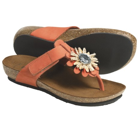 BioNatura Bari Sandals - Nubuck (For Women)