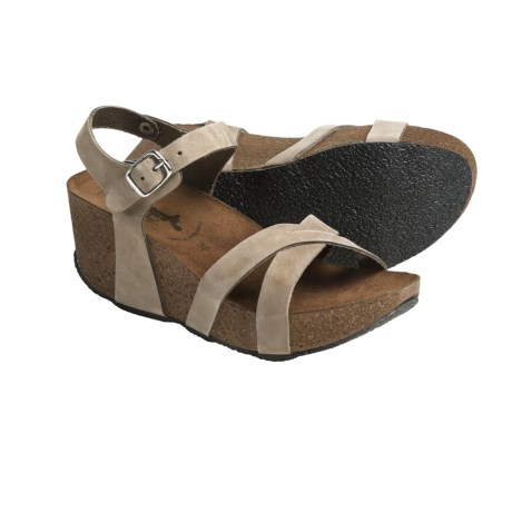 Bos. & Co. Bionatura Fregene Sandals - Nubuck (For Women)