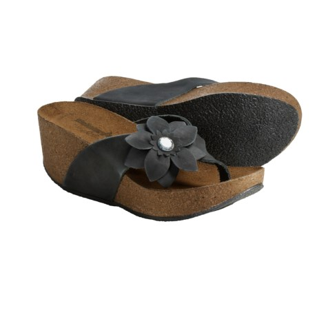 Bionatura Ostuni Thong Sandals - Leather (For Women)