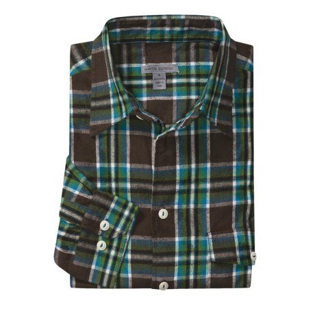 Martin Gordon Fall Plaid Sport Shirt - Flannel, Long Sleeve (For Men)