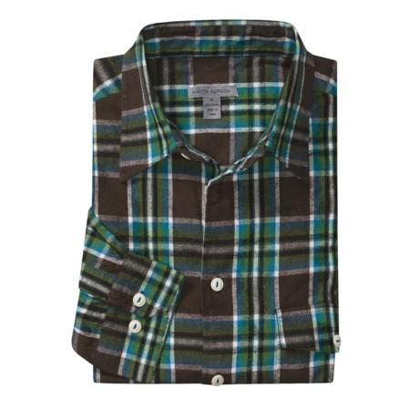Martin Gordon Fall Plaid Sport Shirt - Flannel, Long Sleeve (For Men)