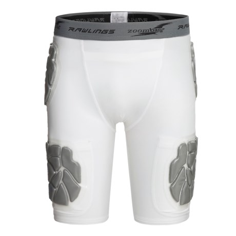 Rawlings Zoombang 5-Piece Compression Padded Girdle Shorts (For Youth)