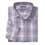 Martin Gordon Plaid Shadow Check Sport Shirt - Long Sleeve (For Men)