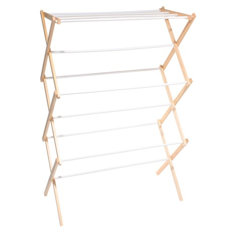Honey Can Do Wood Accordion Drying Rack
