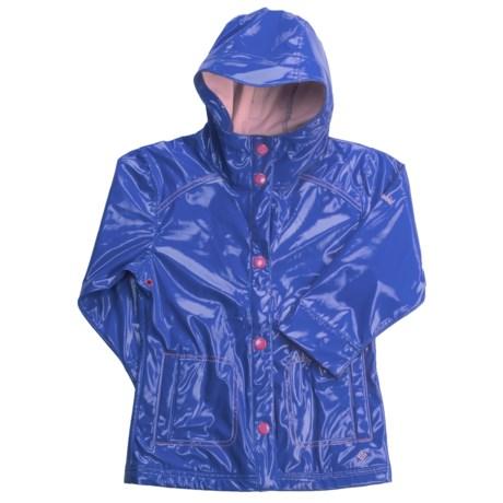 Columbia Sportswear Puddle Jumper Rain Slicker Jacket (For Little Girls)