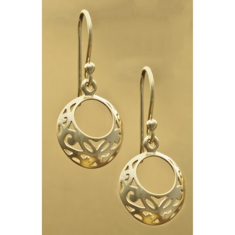 Stanley Creations Dangling Filigree Earrings