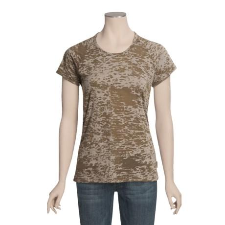 Woolrich Ambler T-Shirt - Burnout, Short Sleeve (For Women)
