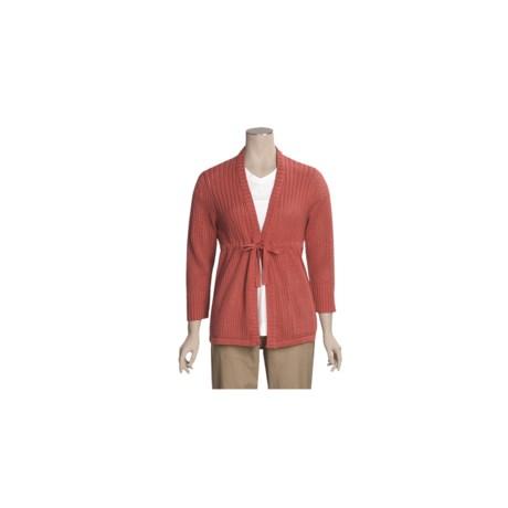 Woolrich Odella Cardigan Sweater - 3/4 Sleeve (For Women)