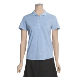 Woolrich First Fork Lace Polo Shirt - Short Sleeve (For Women)