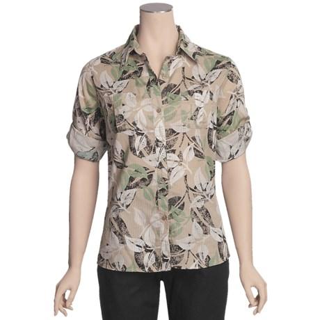 Woolrich Dawn Meadows Shirt - 3/4 Sleeve (For Women)