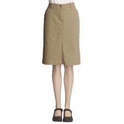 Woolrich Fairwinds Embroidered Denim Skirt (For Women)