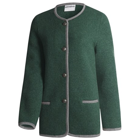 Stapf Knit-Look Jacket - Boiled Wool (For Women)