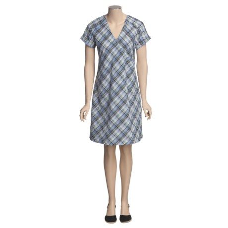 Woolrich Ansley Plaid Dress - UPF 30+, Short Sleeve (For Women)