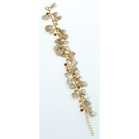 Stanley Creations Pearl Bracelet - Tourmaline