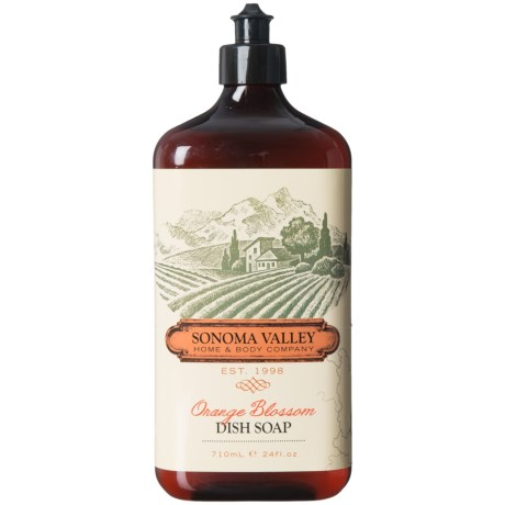 Sonoma Valley Home and Body Orange Blossom Dish Soap - 24 oz.