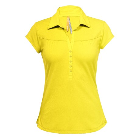 Lole Crush Polo Shirt - UPF 50+, Organic Cotton, Short Sleeve (For Women)