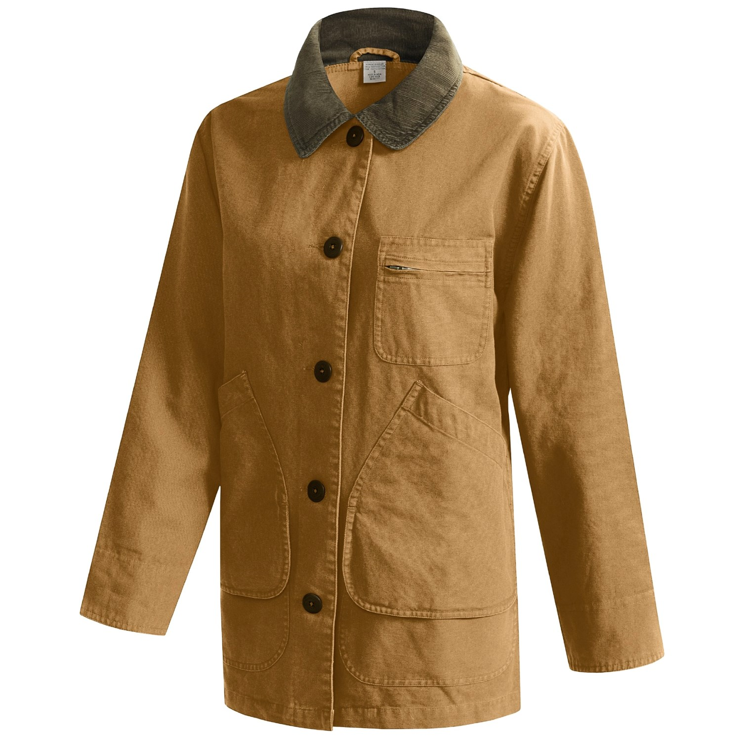 Cotton Canvas Barn Coat (For Women) 41855 - Save 74%