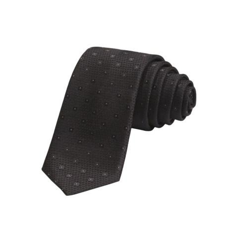 John Varvatos Star USA Silk Dot Tie (For Men)