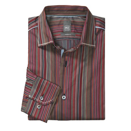 Ike New York Abstract Sport Shirt - Slim Fit, Long Sleeve (For Men)