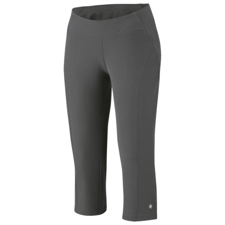 Columbia Back Up Trail Stretch Pants - Double Weave, Knee-High (For Women)