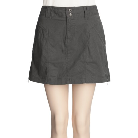 Columbia Sportswear Get S'More Skirt - Stretch Cotton, Slub Weave (For Women)