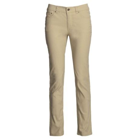 Royal Robbins Slim Jeans - Billy Goat Stretch Canvas, UPF 50+ (For Women)