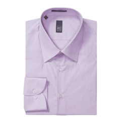 Ike New York Solid Dress Shirt - Slim Fit, Long Sleeve (For Men)