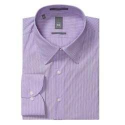 Ike New York Ground Stripe Dress Shirt - Slim Fit, Long Sleeve (For Men)
