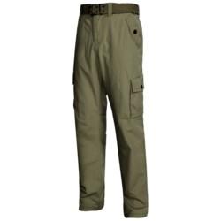 Belted Cotton Pants (For Men)