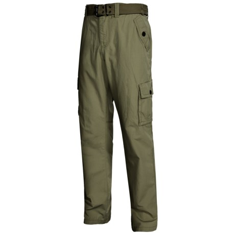Specially made Belted Cotton Pants (For Men)