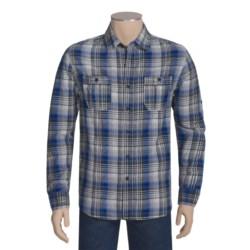 Multi-Plaid Woven Shirt - Cotton, Long Sleeve (For Men)