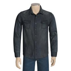 Denim Shirt - Long Sleeve (For Men)