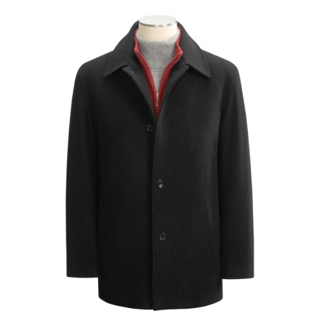 Cole Haan Car Coat - Melton Wool (For  Men)
