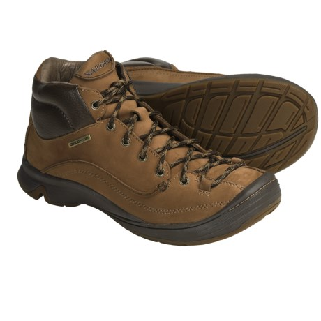Salomon Ginko Mid Hiking Boots - Leather (For Men)
