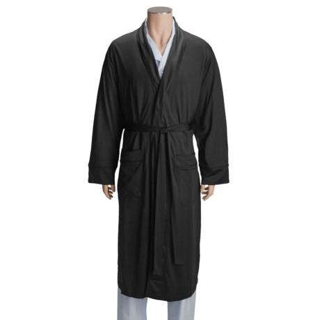 American Essentials Silk-Cotton Robe (For Men)