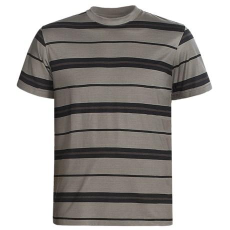 American Essentials T-Shirt - Silk-Cotton, Short Sleeve (For Men)