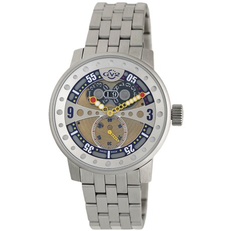 GV2 by Gevril Powerball Big Date Watch