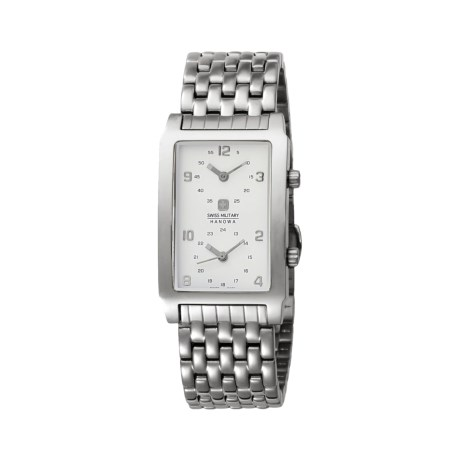 Hanowa Swiss Military Globe Trotter Watch - Stainless Steel Bracelet