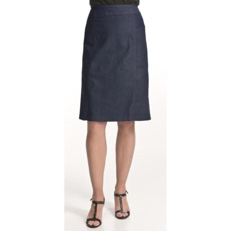 Two Star Dog Liz Pencil Skirt - Polished Denim (For Women)