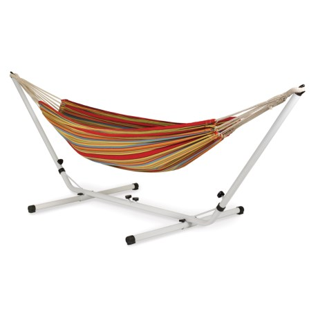 Stansport Brazilian Double Hammock with Stand