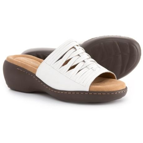 Easy Spirit Daisy Slide Sandals - Leather (For Women)